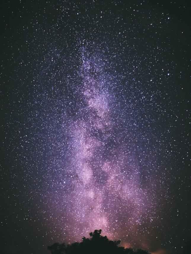 photo of galaxy